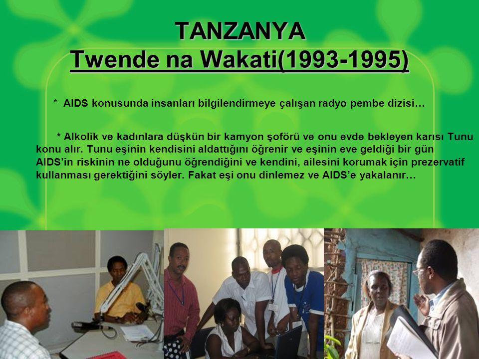 TANZANYA Twende na Wakati(1993-1995)