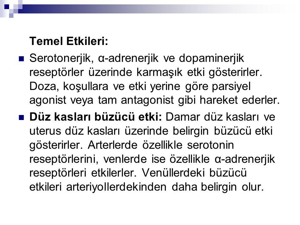 Temel Etkileri: