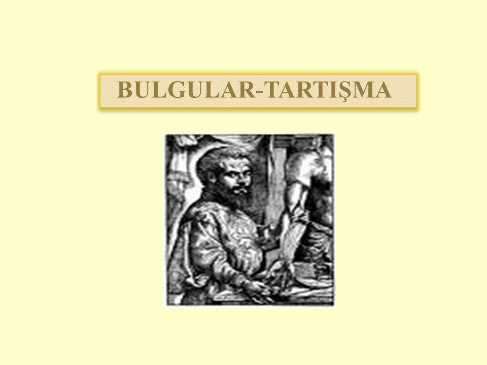 BULGULAR-TARTIŞMA