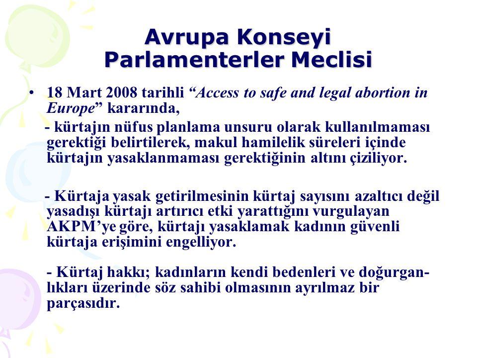 Avrupa Konseyi Parlamenterler Meclisi
