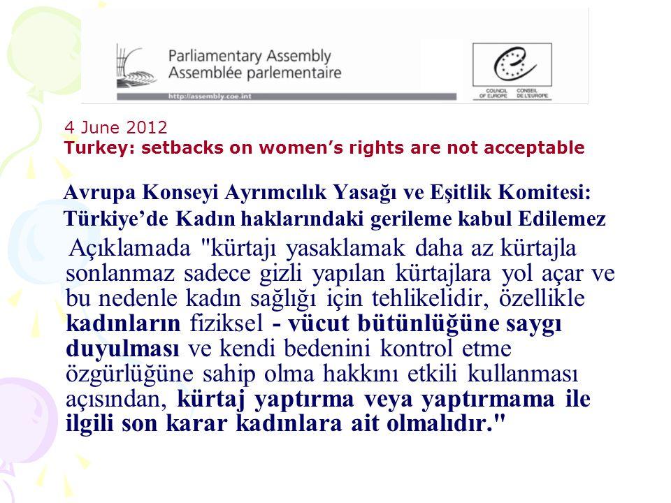 Avrupa Konseyi Ayrımcılık Yasağı ve Eşitlik Komitesi: