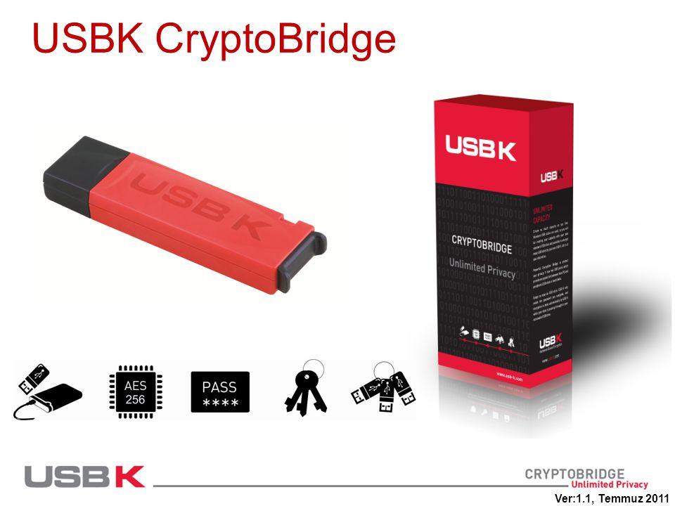 USBK CryptoBridge Ver:1.1, Temmuz 2011