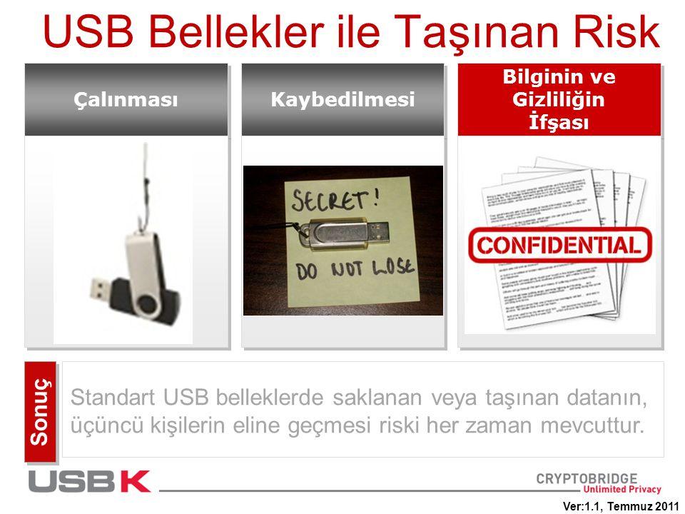 USB Bellekler ile Taşınan Risk