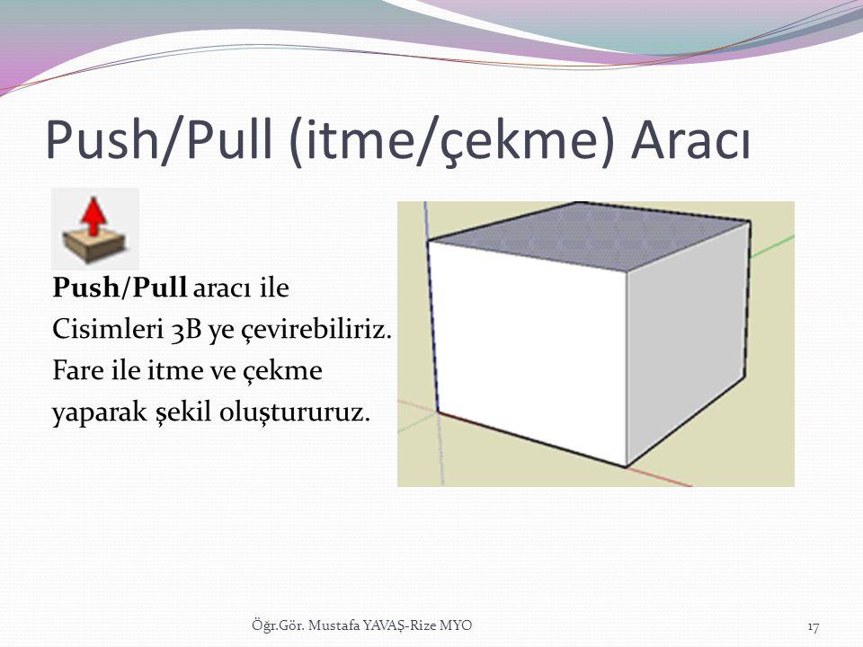 Push/Pull (itme/çekme) Aracı