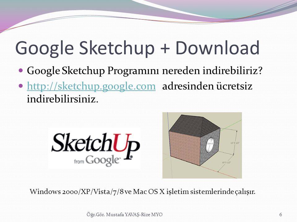Google Sketchup + Download