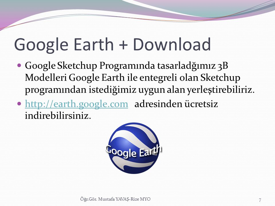 Google Earth + Download