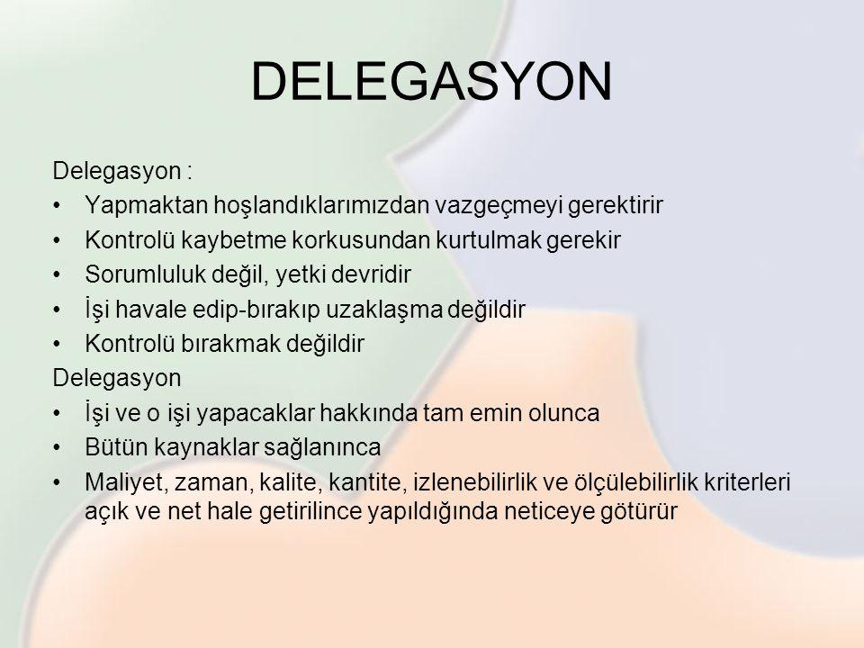DELEGASYON Delegasyon :