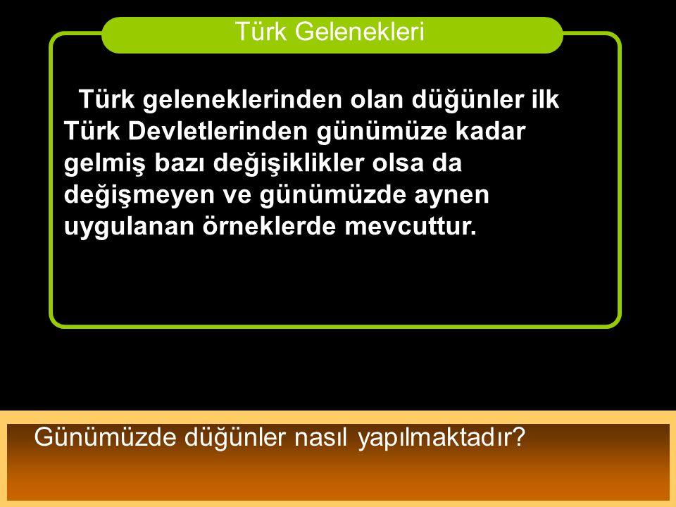 Türk Gelenekleri