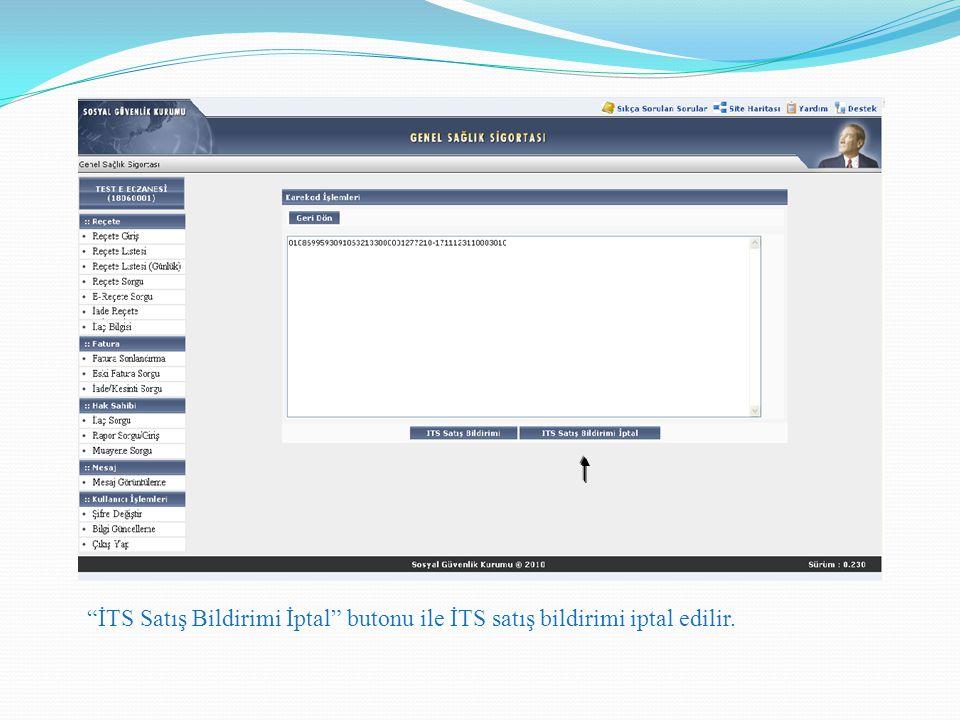 MEDULA-Eczane Provizyon Sistemi Karekodlu Reçete İşlem Adımları