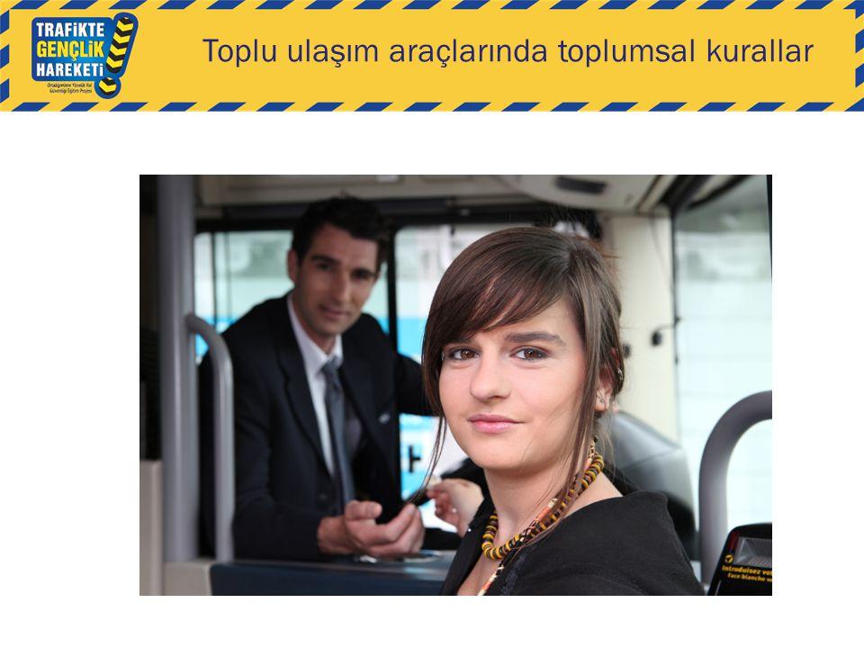 Toplu ulaşım araçlarında toplumsal kurallar