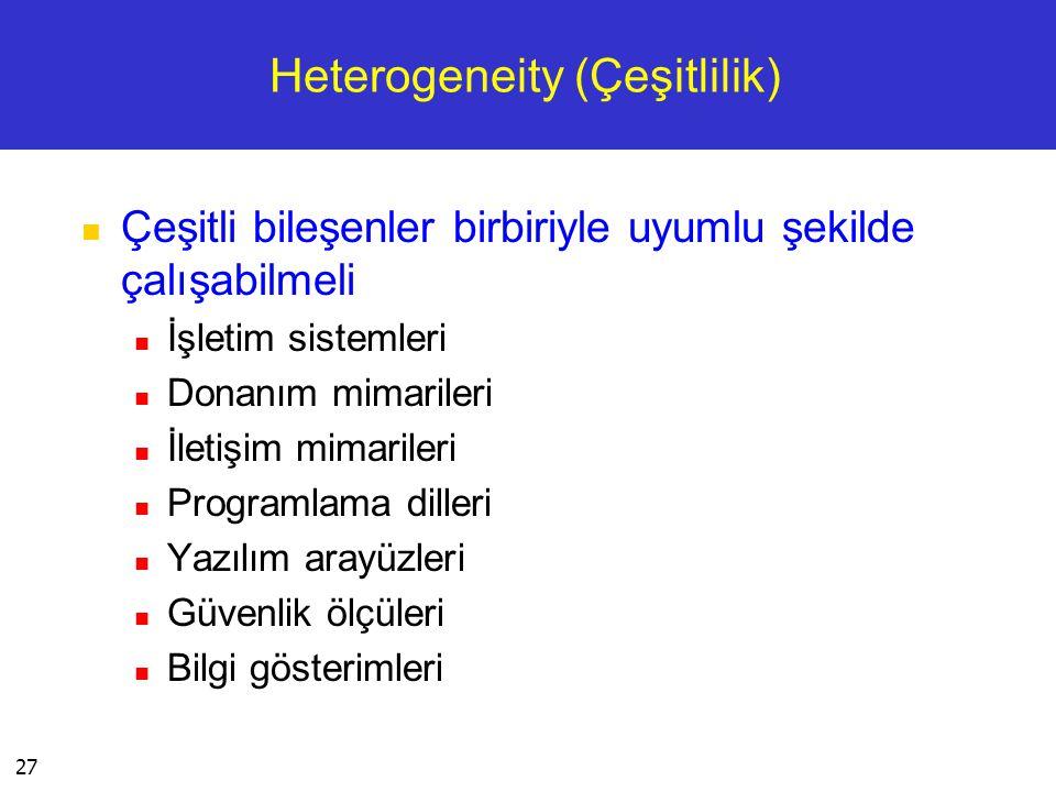 Heterogeneity (Çeşitlilik)