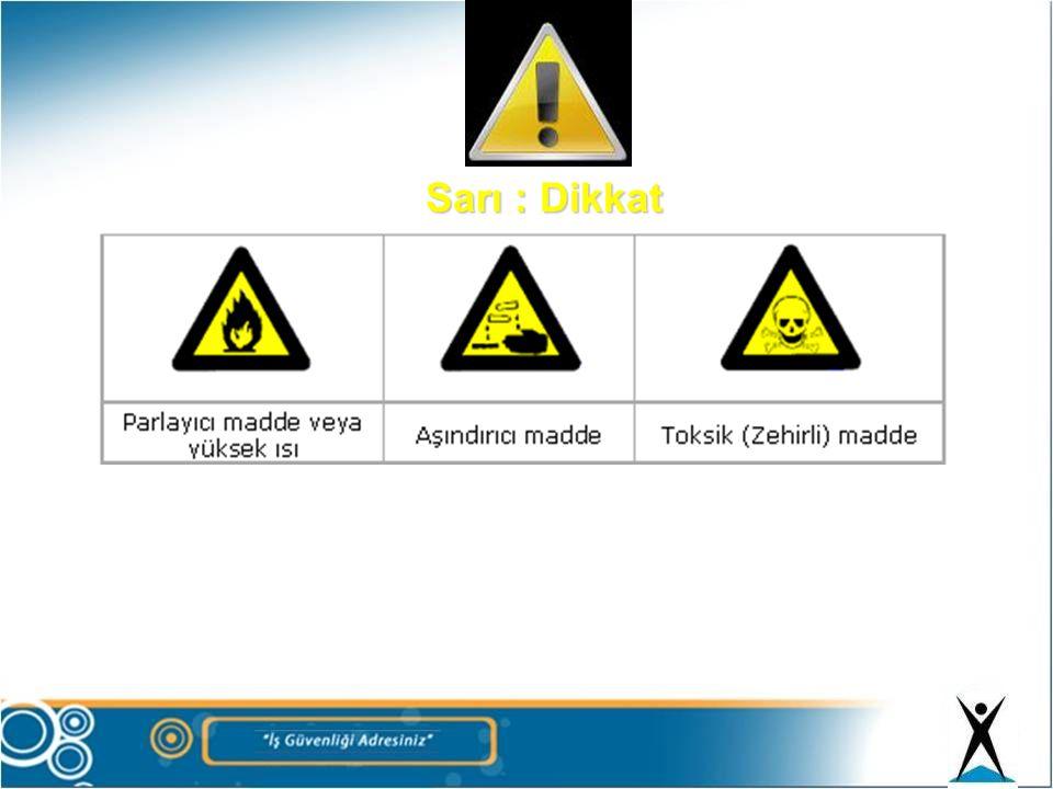 Sarı : Dikkat 171
