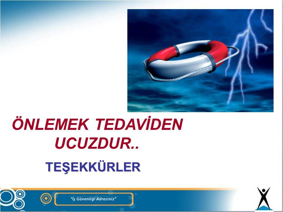 ÖNLEMEK TEDAVİDEN UCUZDUR..