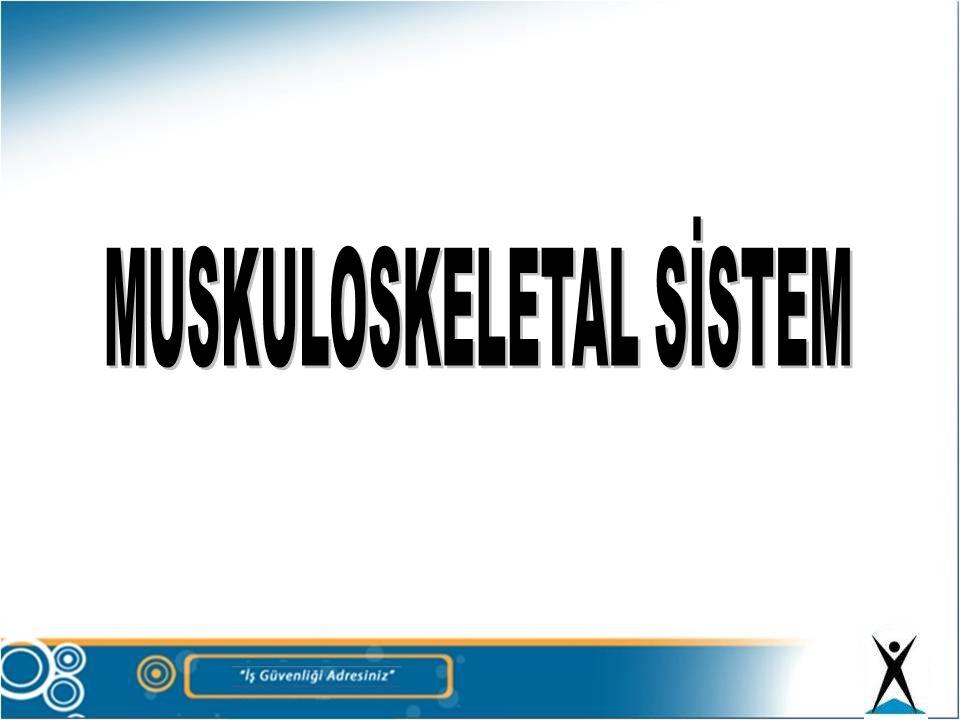 MUSKULOSKELETAL SİSTEM