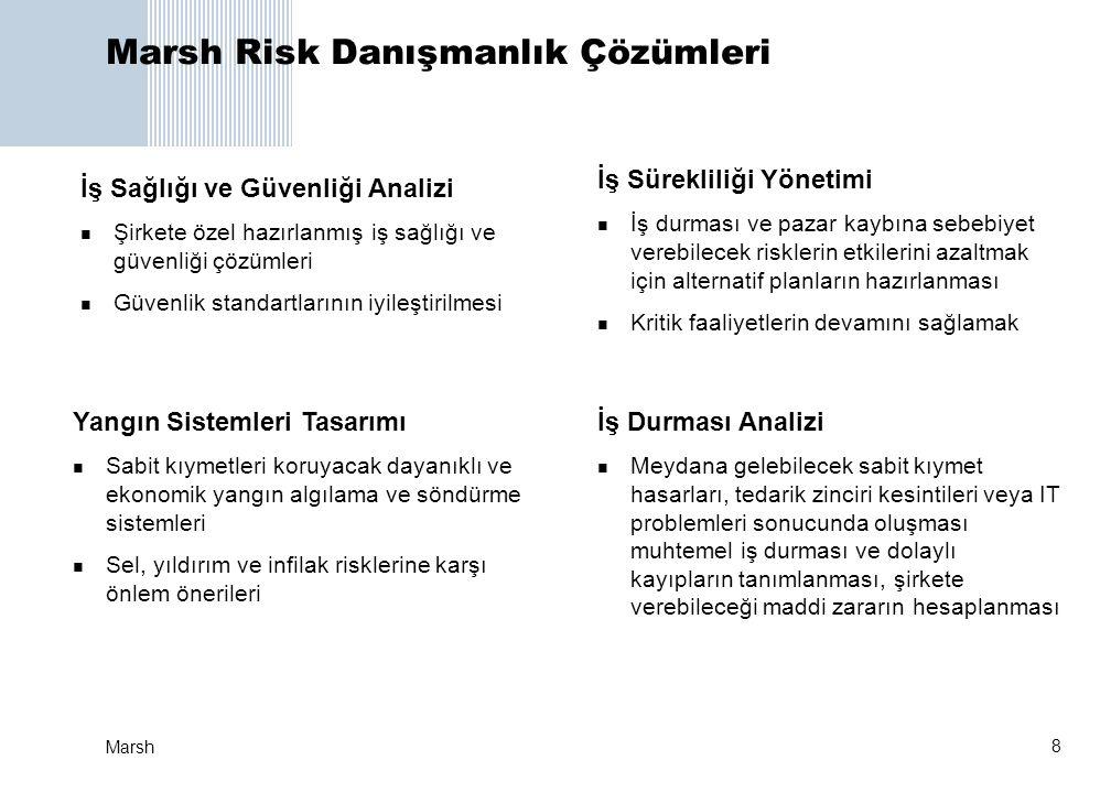Marsh Risk Danışmanlık Çözümleri