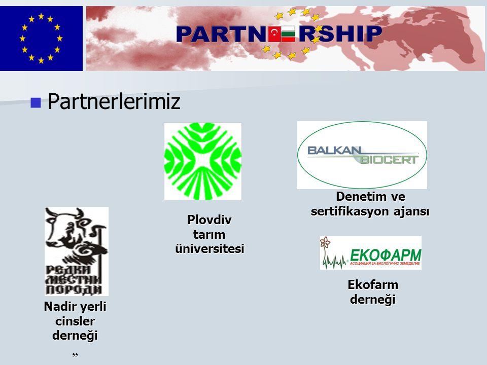 Partnerlerimiz Denetim ve sertifikasyon ajansı