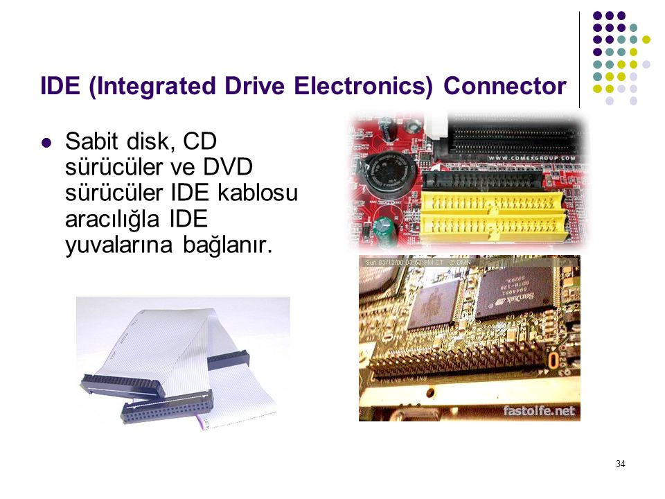 IDE (Integrated Drive Electronics) Connector