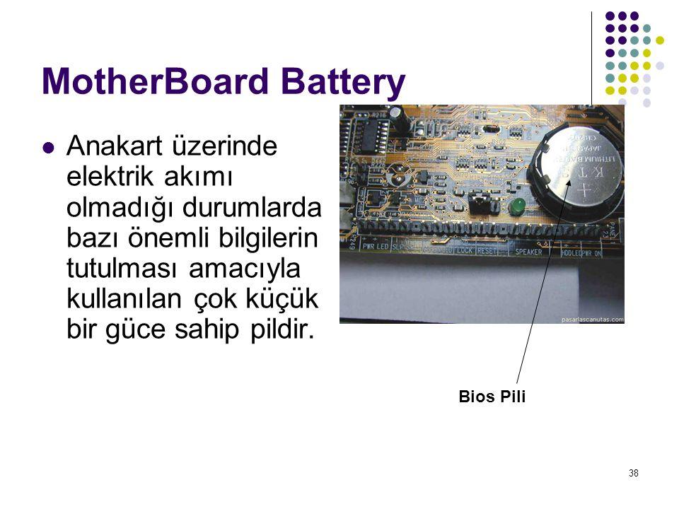 MotherBoard Battery