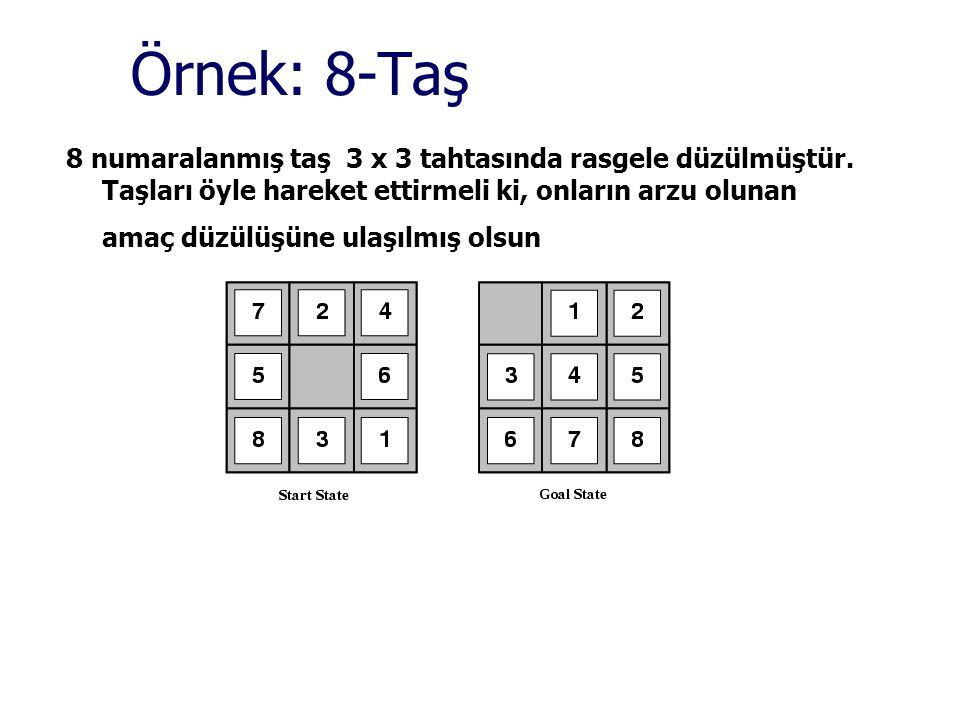 Örnek: 8-Taş