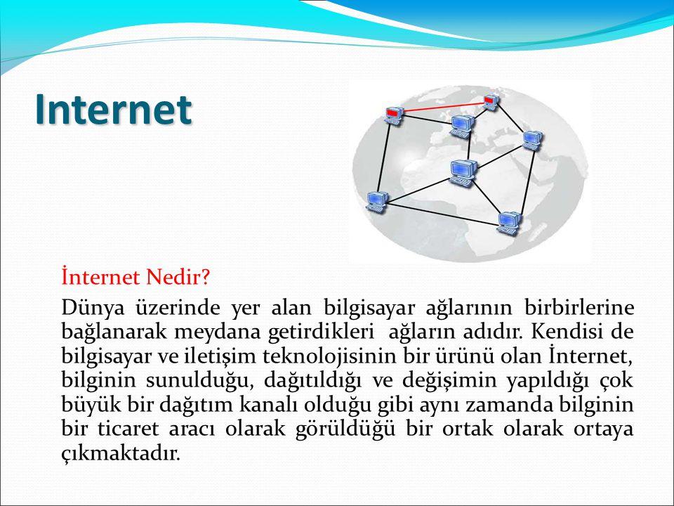 Internet İnternet Nedir