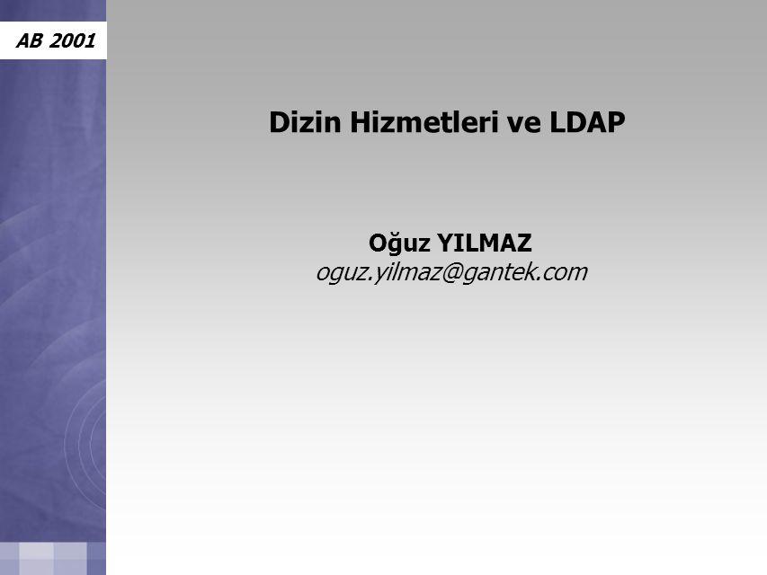 Dizin Hizmetleri ve LDAP