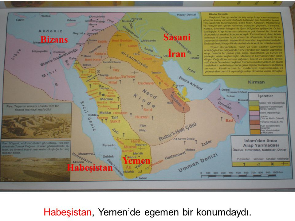 Habeşistan, Yemen'de egemen bir konumdaydı.