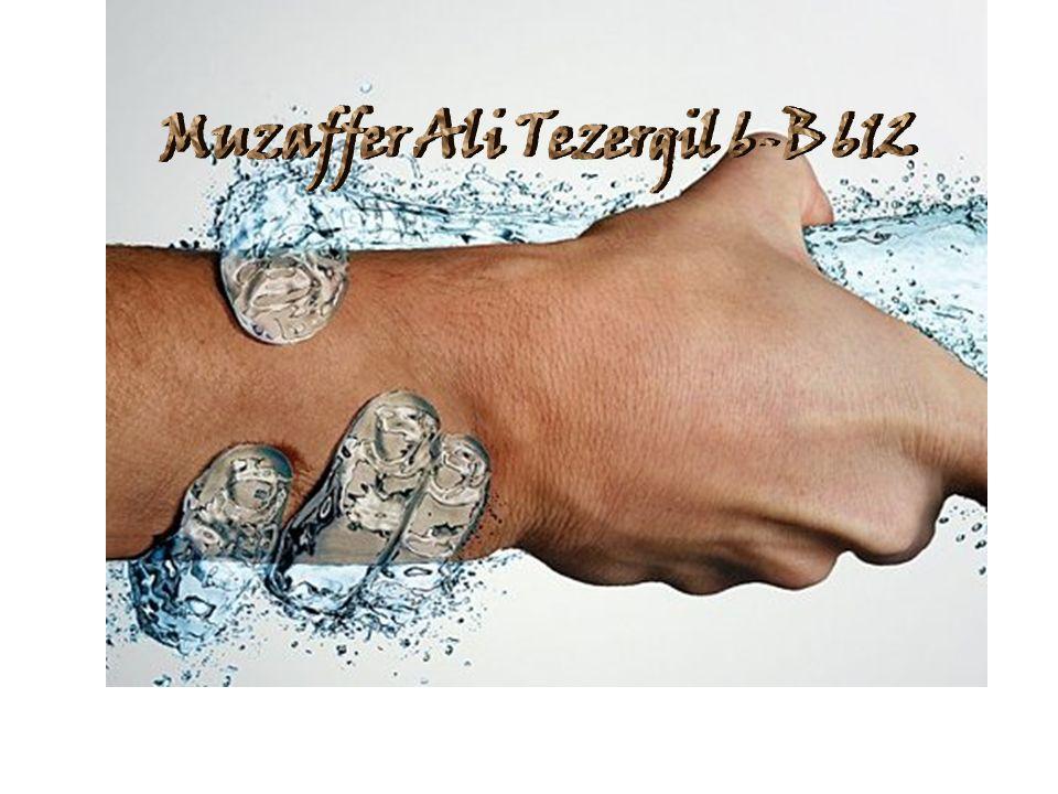 Muzaffer Ali Tezergil 6-B 612