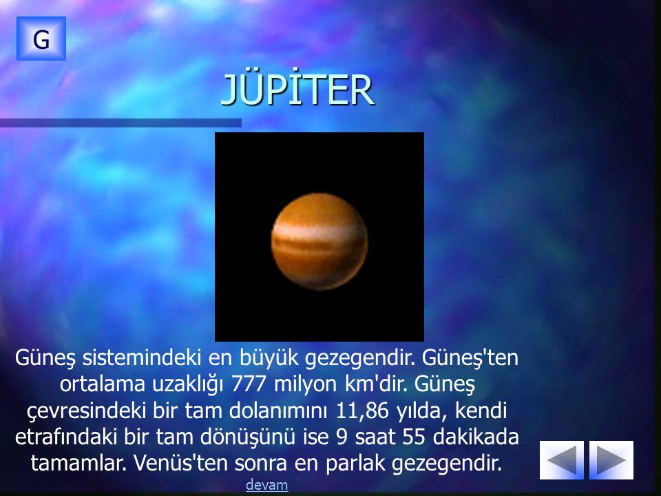 G JÜPİTER.