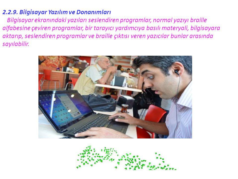 2.2.9. Bilgisayar Yazılım ve Donanımları
