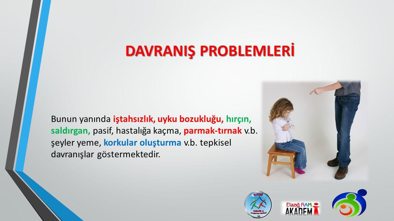 DAVRANIŞ PROBLEMLERİ