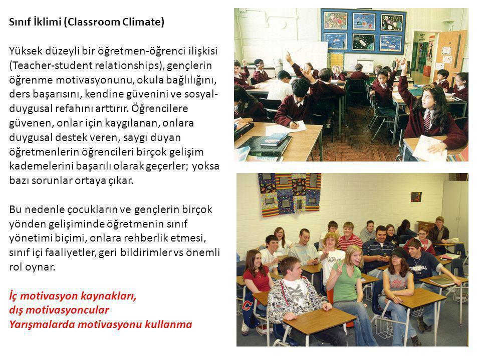Sınıf İklimi (Classroom Climate)