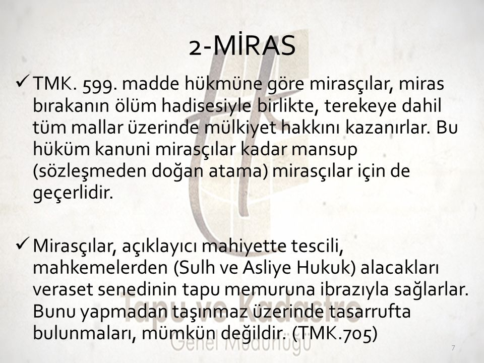 2-MİRAS