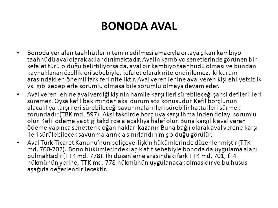 BONODA AVAL