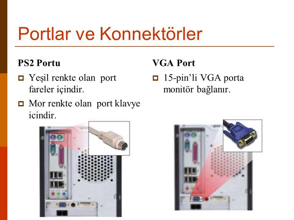 Portlar ve Konnektörler