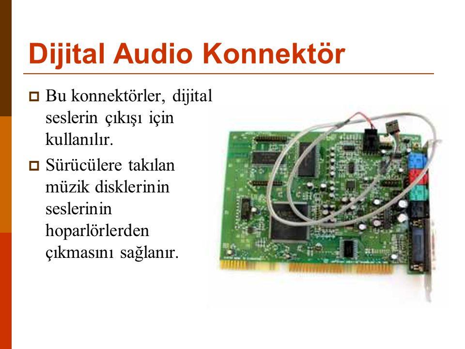 Dijital Audio Konnektör
