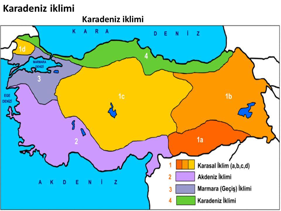 Karadeniz iklimi Karadeniz iklimi
