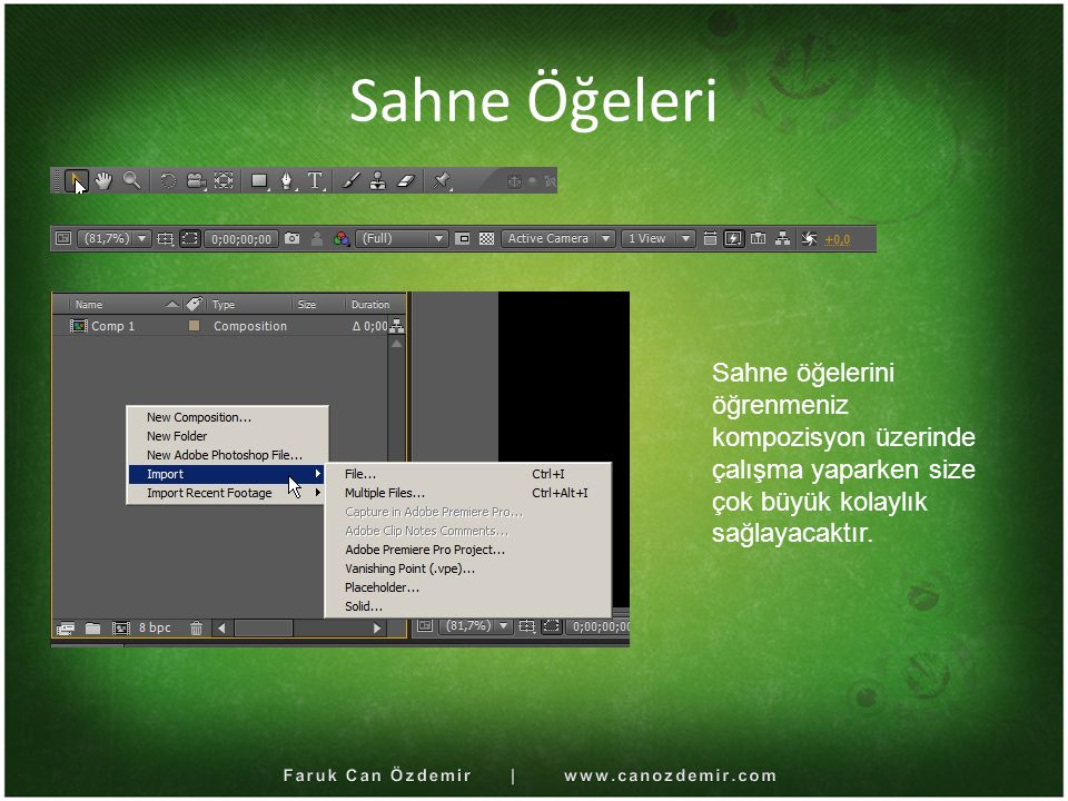 Faruk Can Özdemir | www.canozdemir.com
