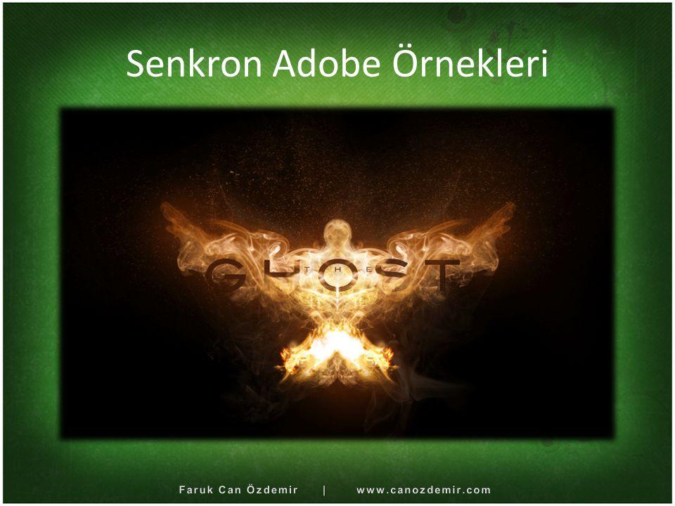 Senkron Adobe Örnekleri