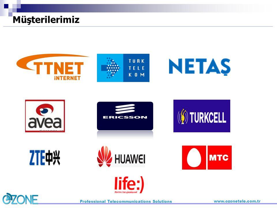 Müşterilerimiz Professional Telecommunications Solutions