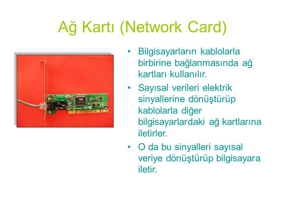 Ağ Kartı (Network Card)