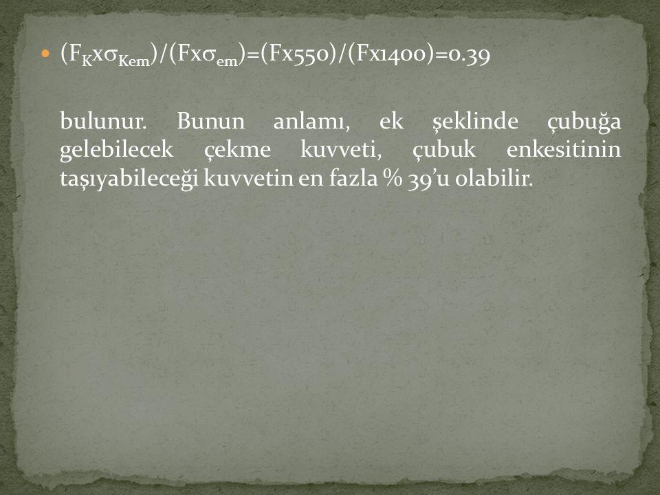 (FKxsKem)/(Fxsem)=(Fx550)/(Fx1400)=0.39