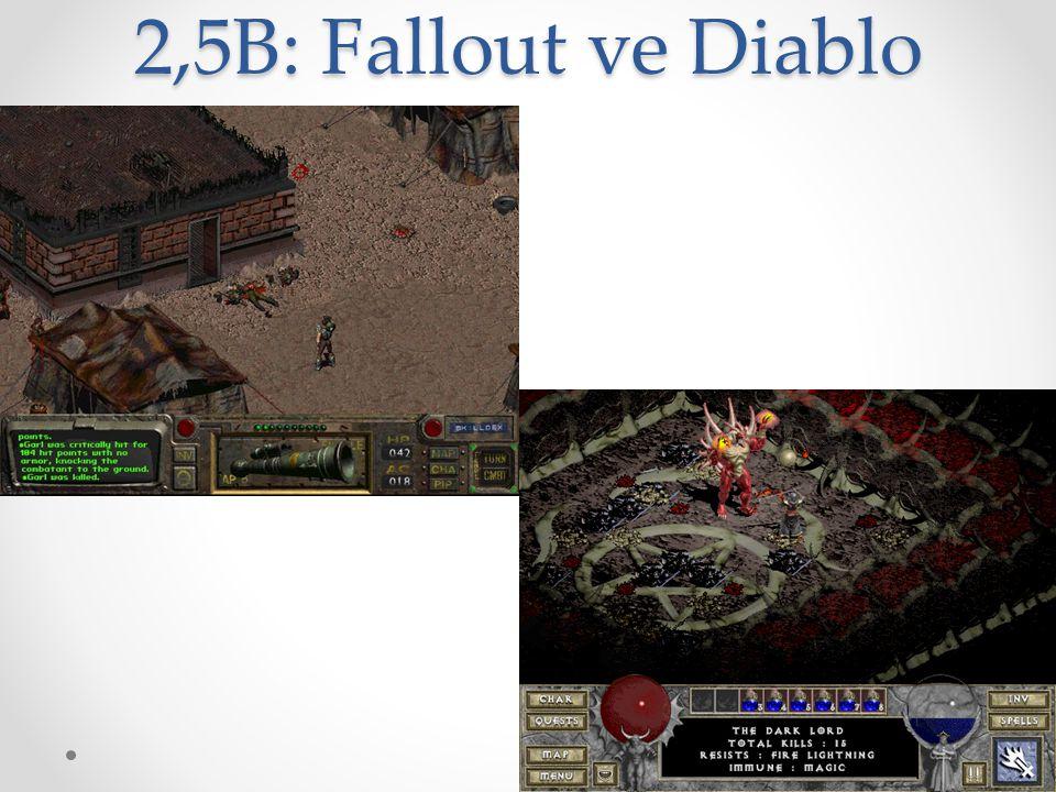2,5B: Fallout ve Diablo