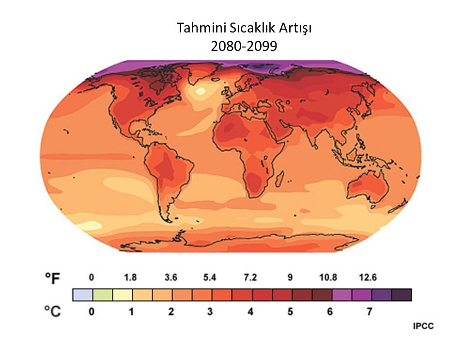 Tahmini Sıcaklık Artışı