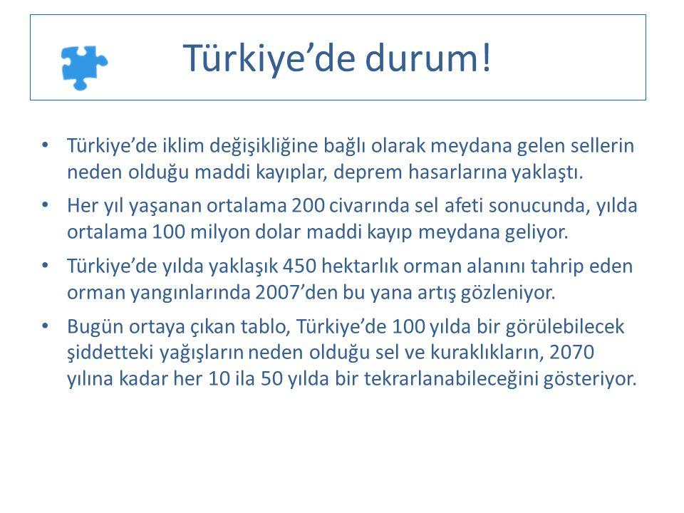 Türkiye'de durum! Türkiye'de iklim değişikliğine bağlı olarak meydana gelen sellerin neden olduğu maddi kayıplar, deprem hasarlarına yaklaştı.