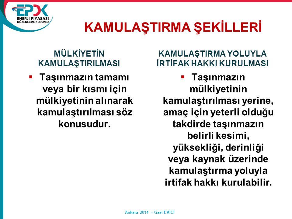 KAMULAŞTIRMA ŞEKİLLERİ