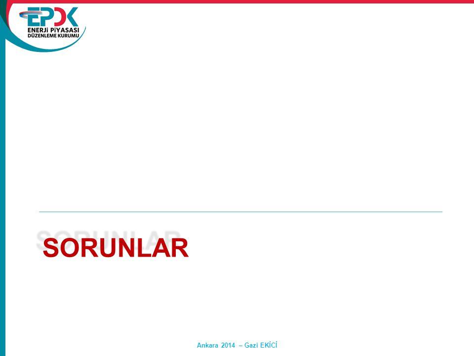 sorunlar Ankara 2014 – Gazi EKİCİ Hasan SAY