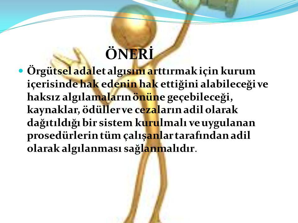 ÖNERİ