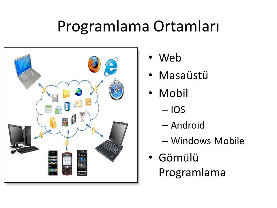 Programlama Ortamları