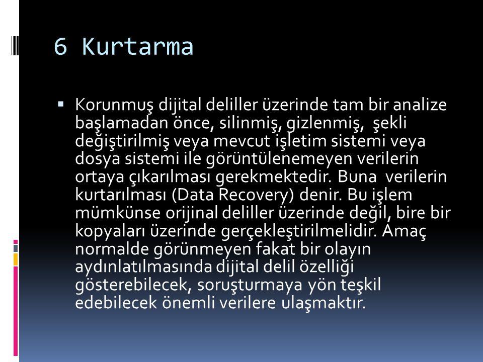 6 Kurtarma