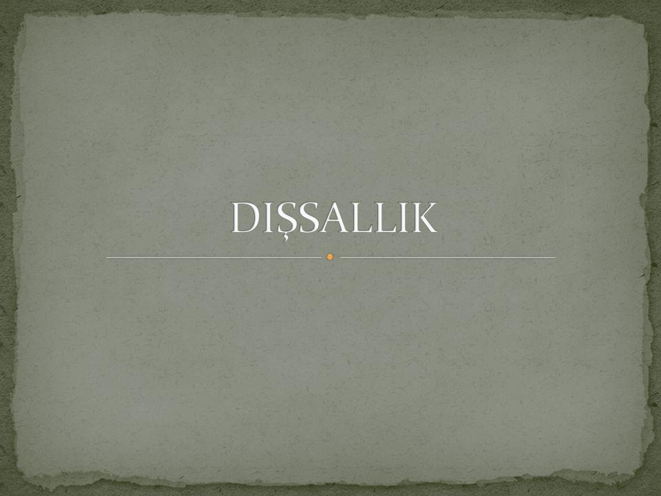 DIŞSALLIK